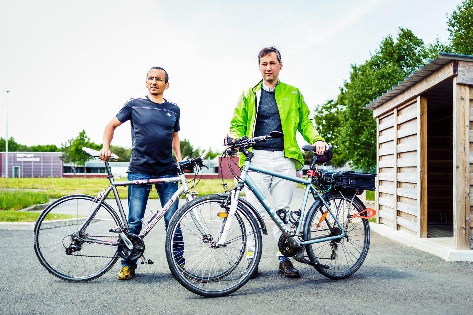 A vélo au boulot - édition 2016 -  Société DECISION ALPHA      (Photo par L Oeil de Paco)