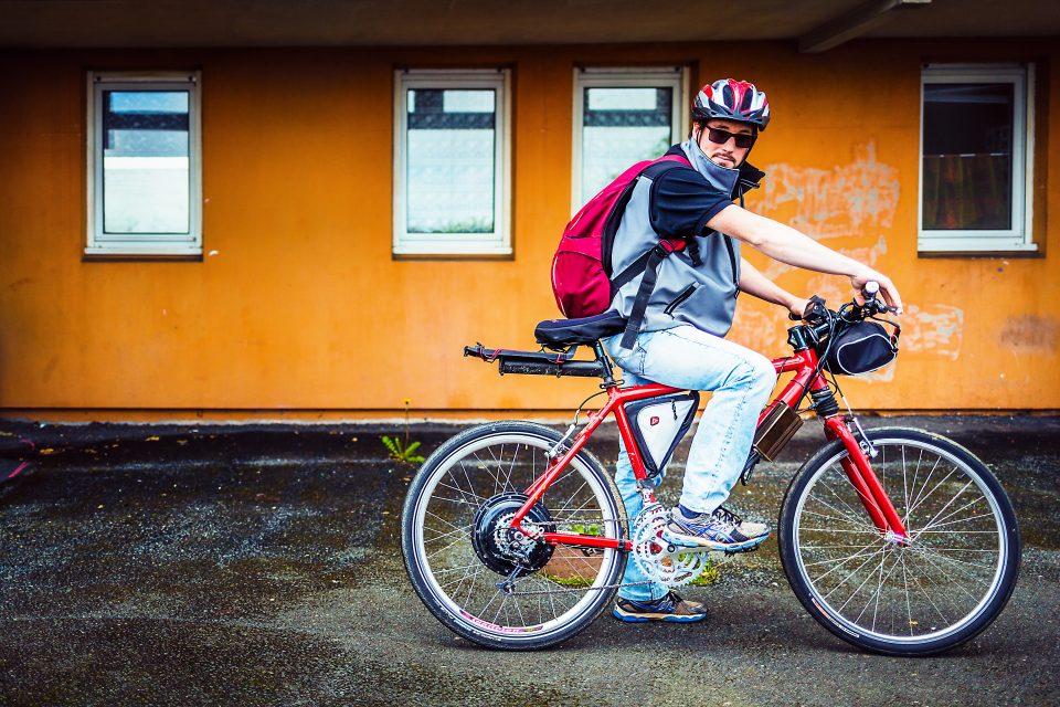 A vélo au boulot - édition 2016 -  Société IEL      (Photo par L Oeil de Paco)