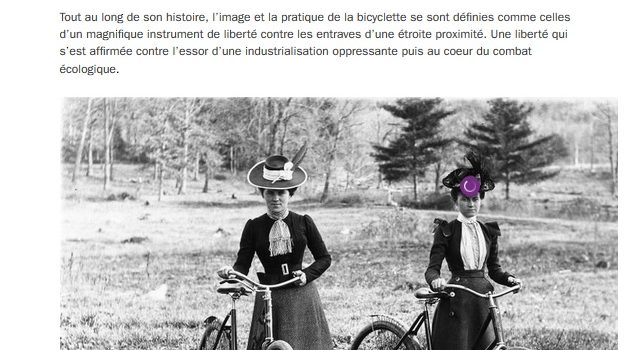 France Culture > Concordance des Temps > « À bicyclette ! »
