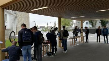 journée de la mobilité organisée par l'Université de Rennes 2 au campus Mazier