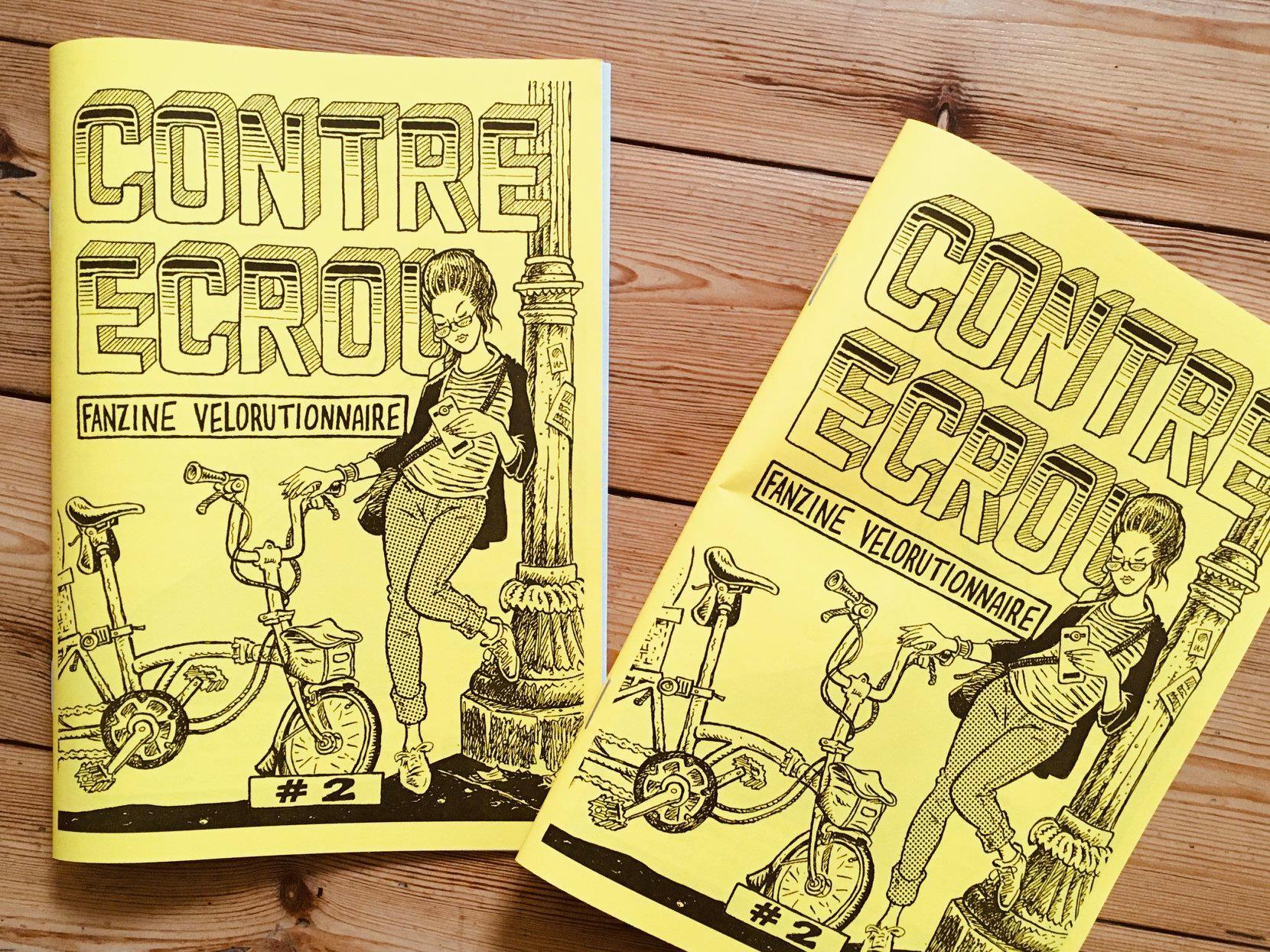 Contre-écrou #2, fanzine vélorutionnaire - Prix libre (coût de fabrication indicatif 1€)
