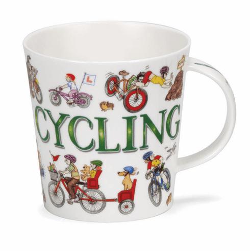 Au Comptoir Irlandais - Mug « Cycling» Dunoon - 28,95€.