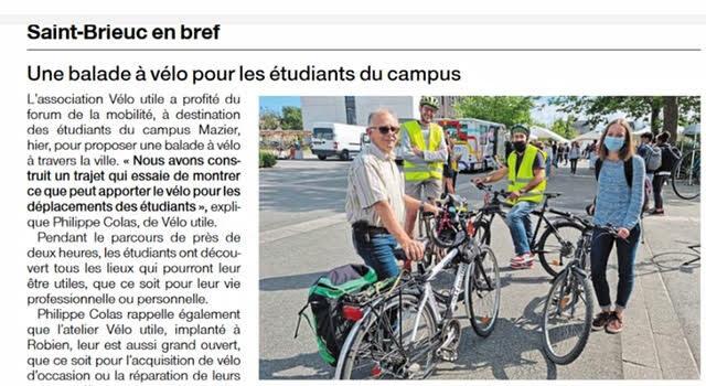 Mobilités au Campus Mazier