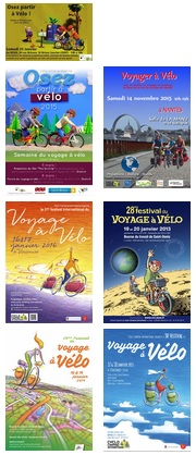 Concours d'affiches et des supports de communication « Forum du voyage à vélo »